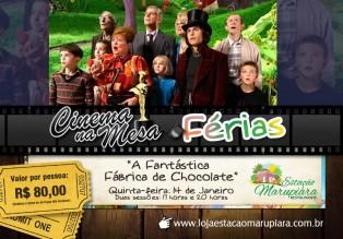 Cinema na Mesa  FERIAS Banner - 14 de Janeiro - Marupiara ALTERADO